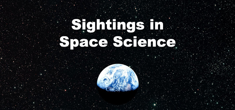 Sightings in Space Science